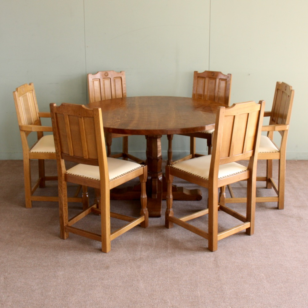 Bob Wrenman Hunter Oak Dining Set