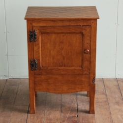 Thomas 'Gnomeman' Whittaker Oak Bedside Cabinet