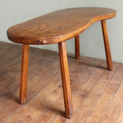 Robert 'Mouseman' Thompson Large Oak Tavern Table
