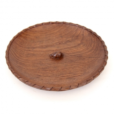 "Peter 'Rabbitman' Heap 9 3/4"" Oak Bowl"