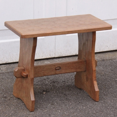 Alan Grainger 'Acornman' Oak Occasional Table or Stool