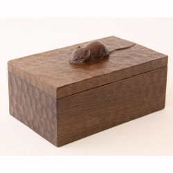 Robert Thompson 'Mouseman' Oak Trinket Box