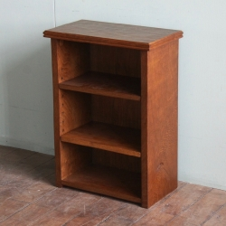 Robert 'Mouseman' Thompson Adzed Oak Bedside Bookcase