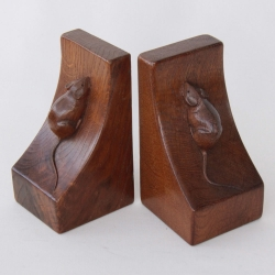 Robert 'Mouseman' Thompson, Oak Bookends