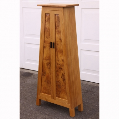 Simon Robinson 'Dalesbred' Burr Oak CD Cabinet