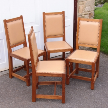 Peter 'Rabbitman' Heap Set of 4 Dining Chairs