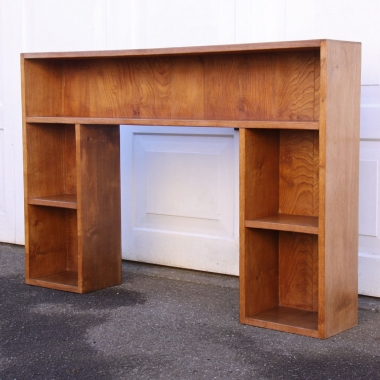 "Derek Slater 'Fishman' Oak 4'6"" Bookcase"