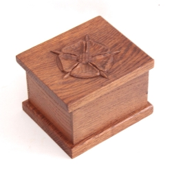 Yorkshire Critters Oak Trinket Box