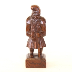 Thomas 'Gnomeman' Whittaker Oak Carved Gnome