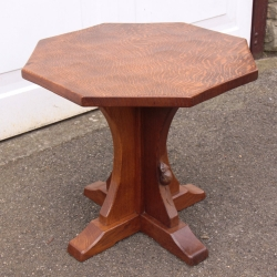 Robert 'Mouseman' Thompson Oak Octagonal Coffee Table