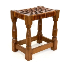 Robert 'Mouseman' Thomposon Oak Stool