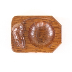 Robert 'Mouseman' Thompson Oak Pin Dish