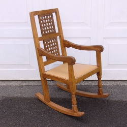 Robert Thompson 'Mouseman' Oak Rocking Chair