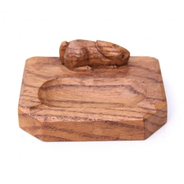 Peter 'Rabbitman' Heap Oak Ashtray