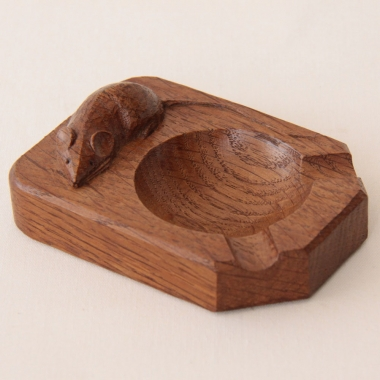 Robert Thompson 'Mouseman' Oak Ashtray