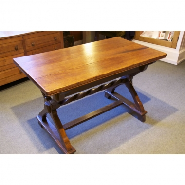 Liberty & Co London 4' Natural Oak Centre Table