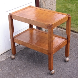 Robert 'Kingpost' Ingham Oak 2 Tier Trolley