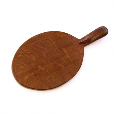 Robert 'Mouseman' Thompson  Oak Cheeseboard