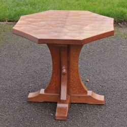 Robert Thompson 'Mouseman' Octagonal Coffee Table