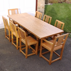 Sid Pollard Dining Table and Chair Set