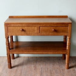 Robert 'Mouseman' Thompson Oak Hall or Serving Table