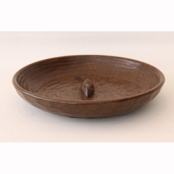 "Robert Thompson 'Mouseman' 11 ½"" Oak Fruitbowl"
