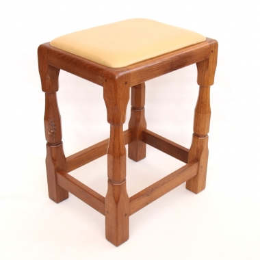 Colin ' Beaverman' Almack Oak Stool