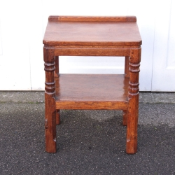 Robert Thompson 'Mouseman' Rare Early Side / Bedside Table