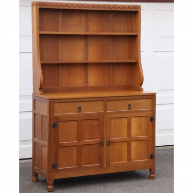 David 'Oakleafman' Langstaff  Oak  4' Welsh Dresser