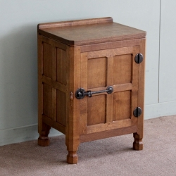 Robert 'Mouseman' Thompson Oak Bedside Cabinet