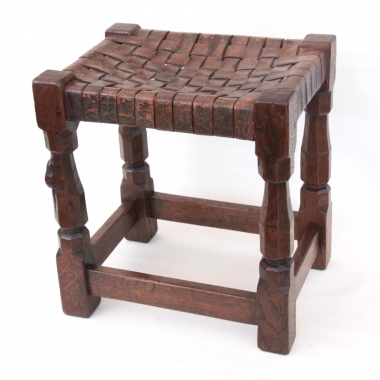 Robert 'Mouseman' Thompson Early Stool