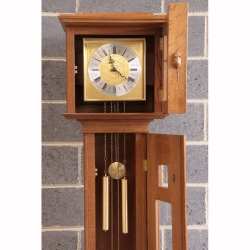 Robert Thompson 'Mouseman' Oak Longcase Grandfather Clock