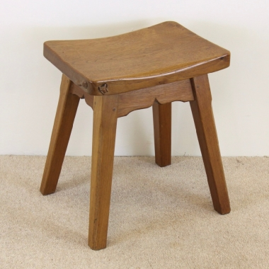 Don 'Foxman' Craven Oak Stool