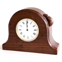 Robert 'Mouseman' Thompson Oak Mantel Clock