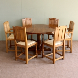 Bob 'Wrenman' Hunter Oak Dining Set