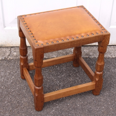 Sid Pollard Yorkshire Oak Dressing Stool