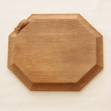 "Robert Thompson 'Mouseman' Oak 12"" Breadboard"