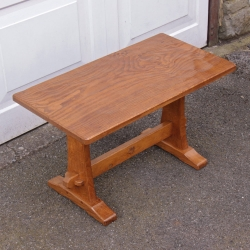 Yorkshire School Oak Refectory Coffee Table