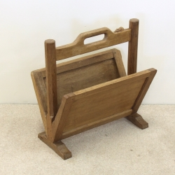 Robert 'Mouseman' Thompson Oak Magazine Rack