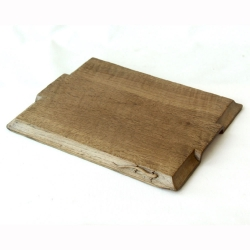 "Martin 'Lizardman' Dutton 12"" Oak Breadboard"