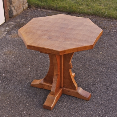 Robert 'Mouseman' Thompson, Oak Octagonal Coffee Table