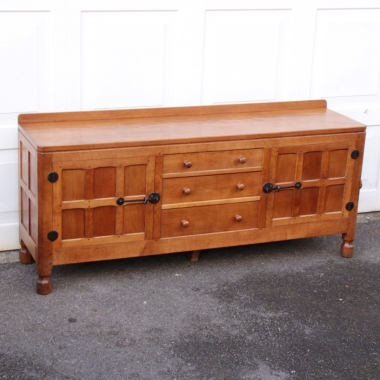 Robert 'Mouseman' Thompson 6' Oak Sideboard