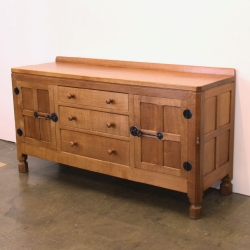 Robert 'Mouseman' Thompson 5' Oak Sideboard