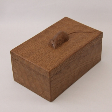 Robert 'Mouseman' Thompson, Oak Trinket Box