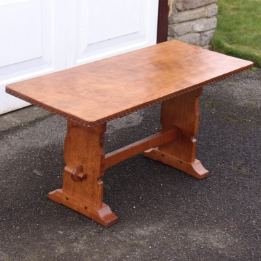Martin 'Lizardman' Dutton Oak 3' Coffee Table
