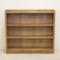 "Alan 'Acornman' Grainger 3'8"" Oak Bookcase"