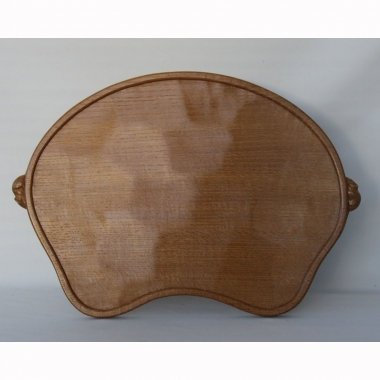 Robert 'Mouseman' Thompson Oak Tea Tray