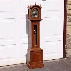 Sid Pollard Yorkshire Oak Grandmother Clock