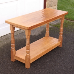 Robert Thompson 'Mouseman' Bespoke Oak 3' Side Table