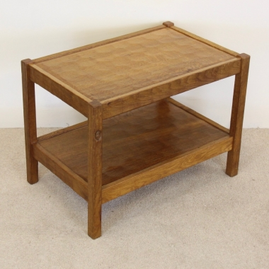 Acornman, Alan Grainger / Acorn Industries Oak 2 Tier Side Table
